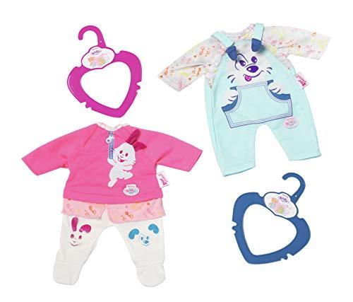 Zapf Creation My Little Baby Born Clothing Puppenkleidungsset (Puppenkleidungsset), bunt, Mädchen, 32 cm, 268 mm