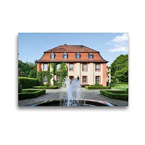 Premium Textil-Leinwand 45 x 30 cm Quer-Format Standesamt | Wandbild, HD-Bild auf Keilrahmen, Fertigbild auf hochwertigem Vlies, Leinwanddruck von Petrus Bodenstaff