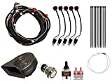 SuperATV Turn Signal Kit for Polaris RZR XP 1000 / XP 4 1000 (2014+) - (with Toggle Turn Switch) - Plug and Play for Easy Installation!