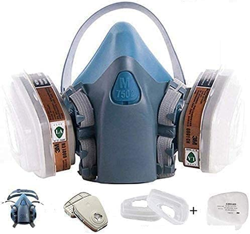 7 in 1 Half Face Respirator 5N11 Filter with 7502 famous Max 46% OFF 6 Particulate