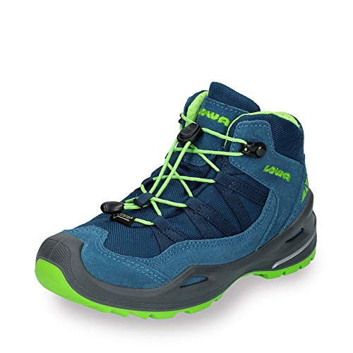 Lowa Robin GTX QC Junior - Blue/Lime