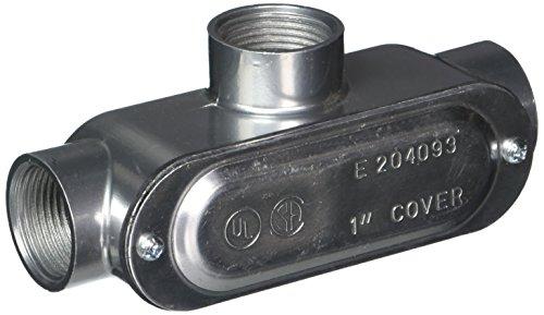Halex Powerstrips groß 1Aluminium Kabelschutzrohr Körper mit Cover und Dichtung Type T