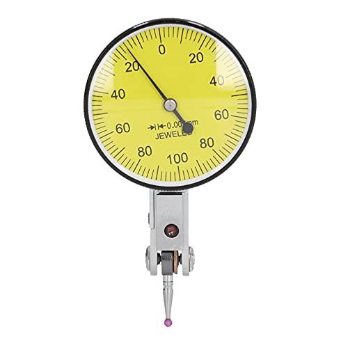 Indicadores De Esfera De Acero Inoxidable, Indicador De Esfera De 0‑0,2 Mm, Resistente Al Agua, 1,5 Pulgadas De Diámetro Para Instrumentos Precisos