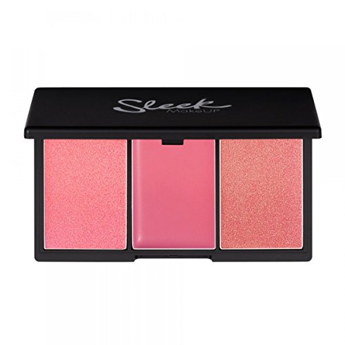 Sleek MakeUP Blush by 3 Palette Pink Lemonade 20g