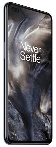 OnePlus NORD (5G) 8GB RAM 128GB Smartphone ohne Vertrag, Quad Kamera, Dual SIM. Jetzt mit Alexa Built-in - 2 Jahre Garantie - Onyx Grau - 5
