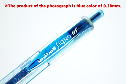 Uni-Ball Signo RT Retractable Gel Ink Pen, Rubber Grip, Micro Point 0.38mm, 7 Color Ink, Sticky Notes Value Set