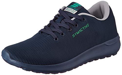 Amazon Brand - Symactive Men's Navy Running Shoes-8 UK (SYM-YS-002A)