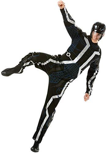 Rubie 's Tron mit Brustmuskeln, Kostüm für Erwachsene, lizensiertes Produkt, Standardgröße