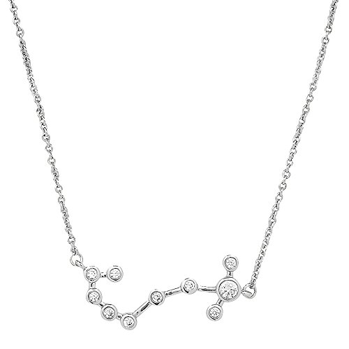 Sterling Forever Scorpio Constellation Necklace - ?When Stars Align' Constellation Necklace, Silver...