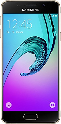 ​Samsung Galaxy A3 Smartphone (2016) (12 cm (4,71 Zoll) HD Super AMOLED Touch-Display, 16 GB, Android 5.1) gold