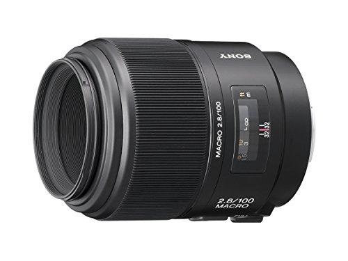 Sony 100mm f/2.8 Macro Lens for Sony Alpha Digital...