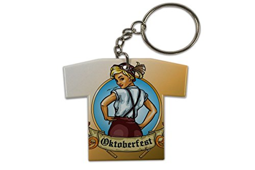 LEotiE SINCE 2004 Schlüsselanhänger Urlaub Reisebüro Oktoberfest Trikot bedruckt