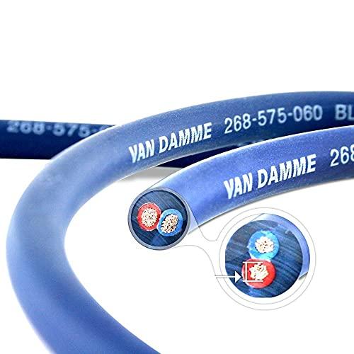 Van Damme Blue Series Studio Grade 2 x 0.75 mm / 7M...