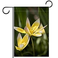 ガーデンサイン庭の装飾屋外バナー垂直旗花 オールシーズンダブルレイヤー