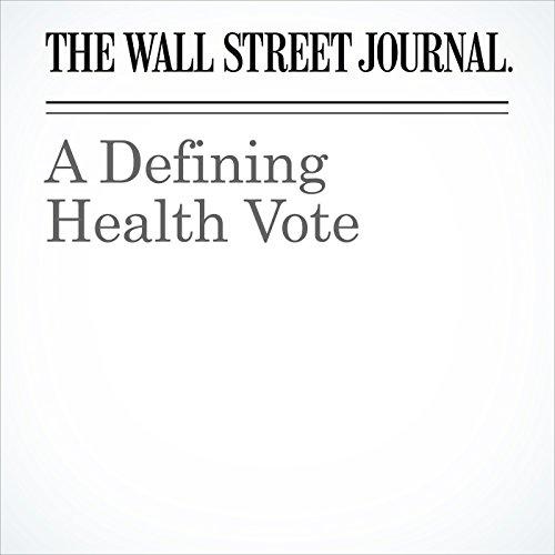 A Defining Health Vote copertina