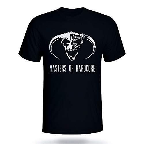 Masters of Hardcore Print Sweatshirts Autumn Casual Men T-Shirt