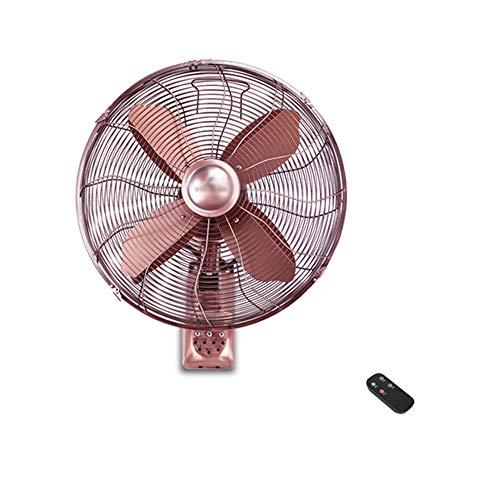 Ventilatori da parete In Metallo da 16 Pollici con Temporizzazione del Telecomando Inclinazione Regolabile in Casa Ventilatore Industriale Oscillante A 3 velocità con Circolazione d'Aria Oscillante