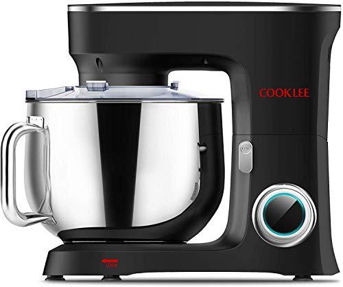 Robot de cocina COOKLEE 3 en 1, amasadora eléctrica, batidora de 10...