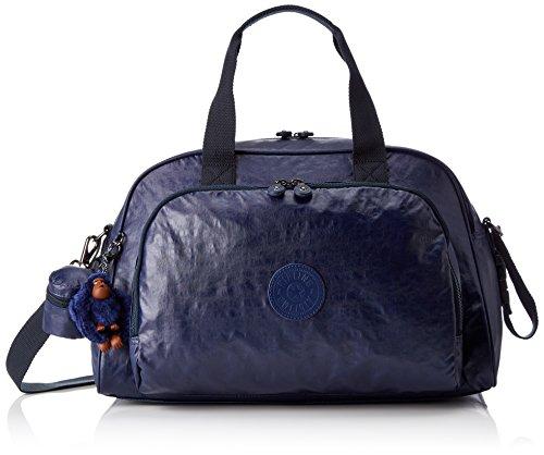 Kipling Camama Borsa per Neonato con Fasciatoio, 44 cm, Blu (Lacquer Indigo)