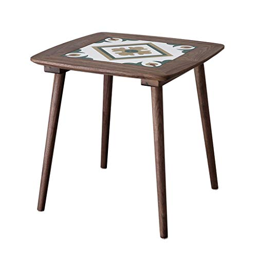 Nordic Coffee Table Side Table Log Small Corner Living Room Sofa Side...