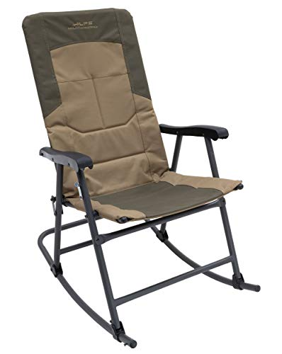 ALPS Mountaineering Rocking Chair, Khaki/Brown, 8114914
