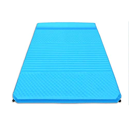 Inflación del colchón de aire del coche adecuado para la caminata Mochila Hamaca Tienda Inflable Almohadilla de dormir Camping Colchón inflable Almohadilla inflable Compacto a prueba de humedad Viaje