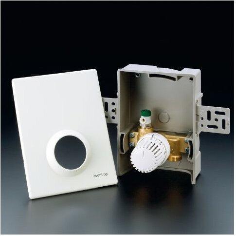 Oventrop eenpersoonsregeling Unibox T met thermostaat Uni LH wit 1022636