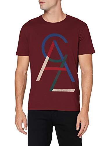 Celio Nesunny Camiseta, Marrón (Burgundy Burgundy), XX-Large para Hombre