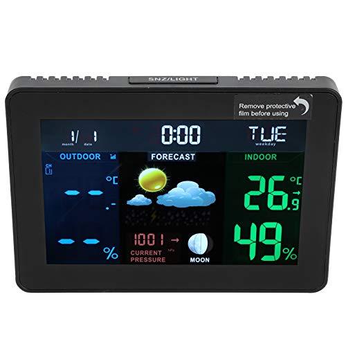 Lairun Reloj Despertador, diseño humanizado, Reloj Despertador y función de repetición, Reloj Calendario, para Calendario Digital Reloj meteorológico Kalender Digital