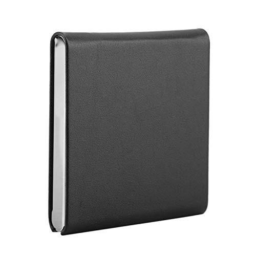 hong Caja de Cigarrillos, Porta Cigarrillos, Conveniente Ultrafino al Aire Libre para el hogar(Black)