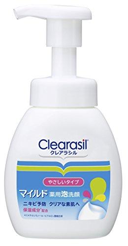 【医薬部外品】クレアラシル ニキビ対策 薬用 泡洗顔フォーム 肌にやさしいマイルドタイプ 200ml