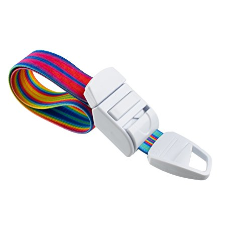 ROLSELEY Medical Tourniquet with Abstract Multicolour V2 Pattern with ABS Plastic Buckle Latex Free Elastic Band Perfect for Doctors, Nurses, Students and Paramedics
