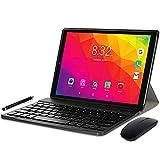 YOTOPT U10 Tablet 10 Pulgadas con Teclado y Ratón, Android 10.0 Tableta Octa-Core con WiFi, 4GB RAM, 64GB ROM, 128GB Expandible, 4G LTE Dual SIM, GPS/Bluetooth 4.2/Type-c,Gris