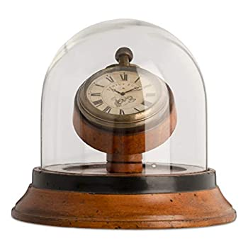 Authentic Models Victorian Dome Watch Brass Replica Pocket Watch Honey Distressed French Finish
