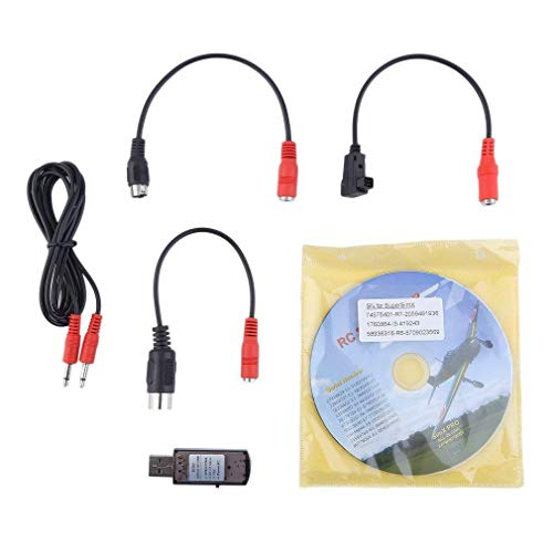 Romote RC Simulator Kit High Performance 22 In 1 RC USB Flight Simulator Mit Kabel Für Real Flight G7 Hubschrauber-Drohne