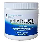 pH Adjust Alkalinizing Formula | Alkalinize with Potassium and Sodium Bicarbonate and Magnesium Carbonate | Rapidly Balances pH Levels | Tastes Good | Easy-to-Use Fine Powder | 250 GM