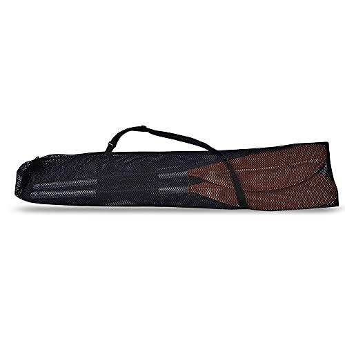 LEAMER Bolsa de remo de kayak, con cordón, para kayak, barco, canoa, lona, bolsa de almacenamiento, bolsa de malla para transporte, bolsa de almacenamiento, incluye varias paletas