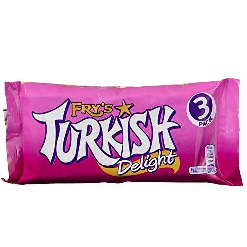 Fry's Turkish Delight 3x51g (153g) - Schokoriegel