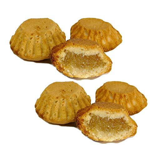 Braune Kuchen - Süß mit Engelshaar - Schachtel mit 500 g - Hergestellt in Medina Sidonia - Nichte von Las Trejas (2 Schachtelen)