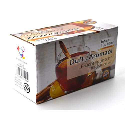 Duftöl Aromaöl 10ml Nachfüller 'Früchtepunsch' Adventszeit Weihnachten
