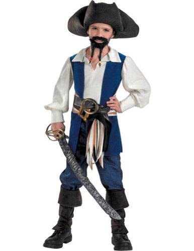 Disney's Pirates Captain Jack Standard Costume: Boy's Size 4-6