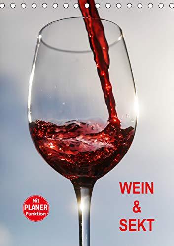 Wein und Sekt (Tischkalender 2021 DIN A5 hoch)