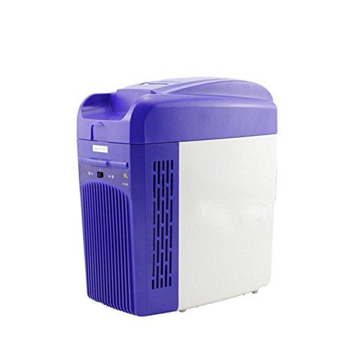 L&Z Mini Réfrigérateur Pour La Voiture Et Le Réfrigérateur Électrique De La Classe A ++ 5L De Camion De Prise Pour Le Voyage