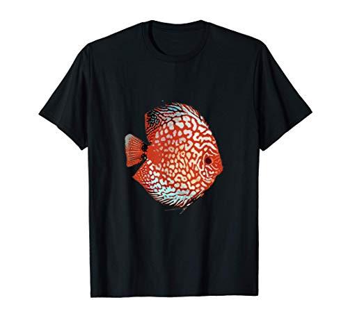 Disco Peces Acuario Cíclidos Camiseta