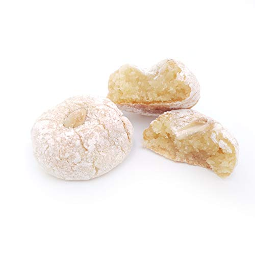 Paste di mandorla siciliane al limone di Sicilia (box gr.400). RAREZZE: cannoli e cassate da antica pasticceria artigianale .