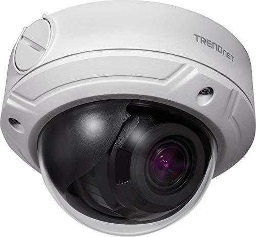 TRENDnet TV-IP345PI Indoor/Outdoor 4 Megapixel überwachung, Varifokal PoE IR Dome Netzwerk Kamera, Auto-Fokus, Manuelles Pan/Tilt