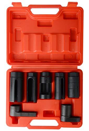 DA YUAN 7pcs O2 Oxygen Sensor & Oil Pressure Sending Unit Master Sensor Socket Set
