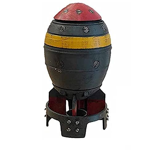 ミニ核爆弾収納ボックスフォールアウトに触発された、レトロなサムル爆弾形状の収納ビン、子供男の子と男性のための最高のホリデーバースデーギフト (B/20cm)