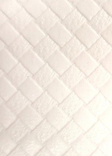 Teknigomme sous Nappe Blanc Anti-Glisse - Largeur 140 cm - roulé sur Tube (sans Plis) (Ovale 1,40 x 2,00 m)