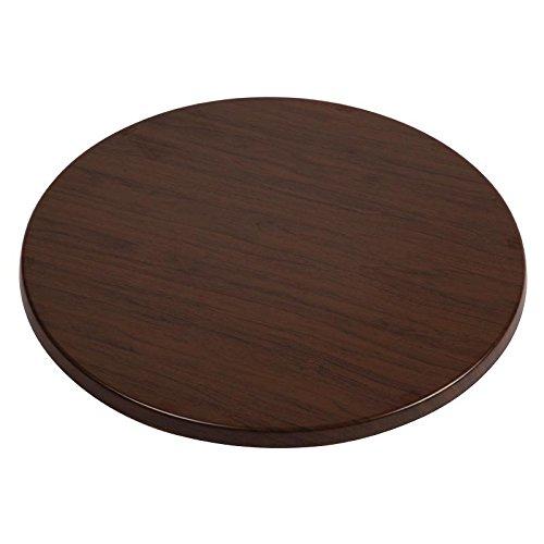 Werzalit Plus U549 Dessus de table ronde, 600 mm de diamètre, Italien en noyer